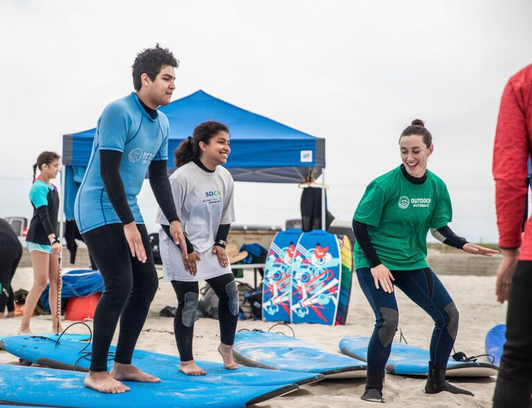Thrive Outside San Diego Surfing