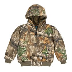 Berne Youth Softstone Hooded Jacket (Tricot)