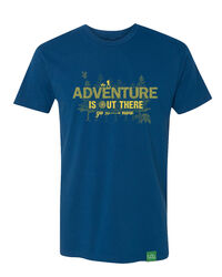 Wild Tribute Adventure Is Out There T-Shirt